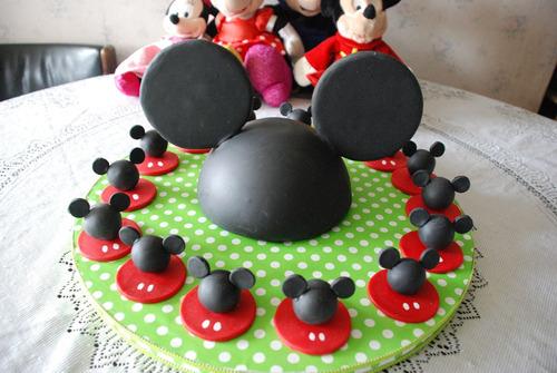 souvenirs y centro de mesa de mickey