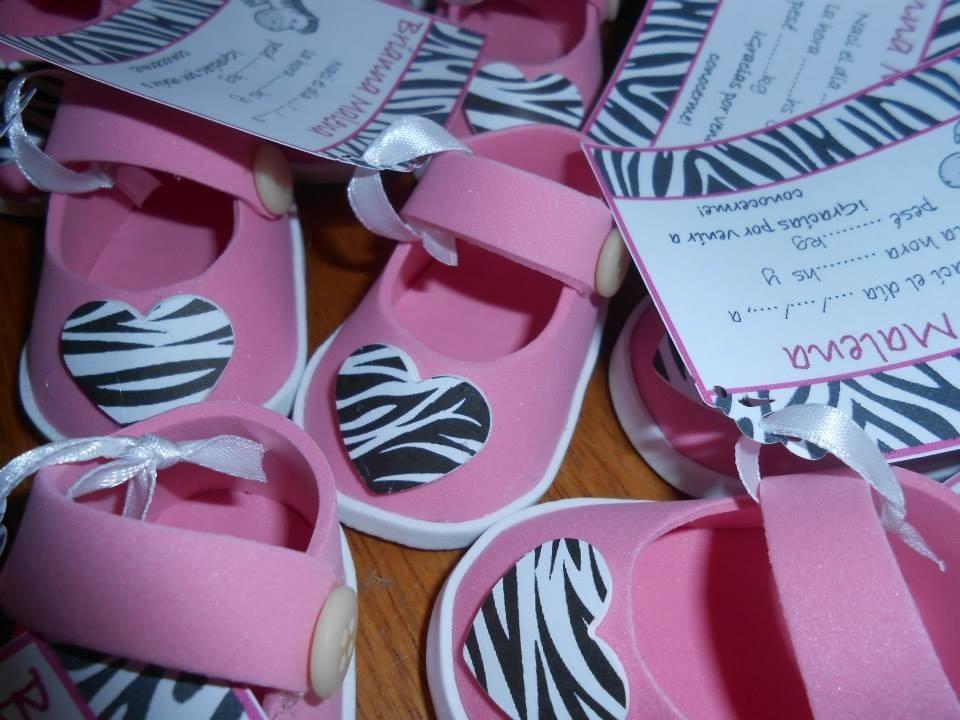 Souvenirs Para Baby Showers Nena ~ Souvenirs zapatito goma eva nacimiento baby showers bebe