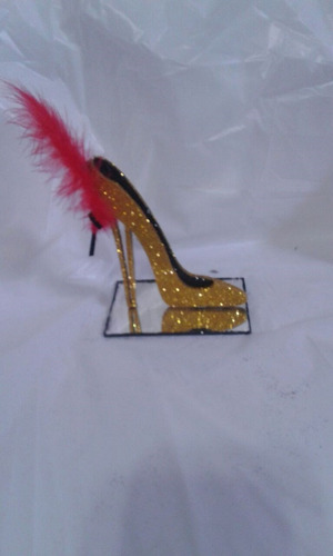 souvenirs zapato con espejo x 20