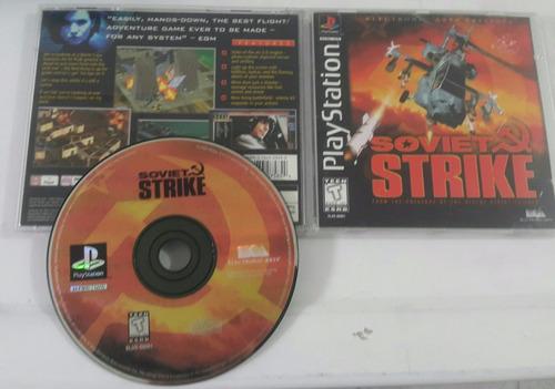 soviet strike / playstation 1 ps1 & ps2 ps3