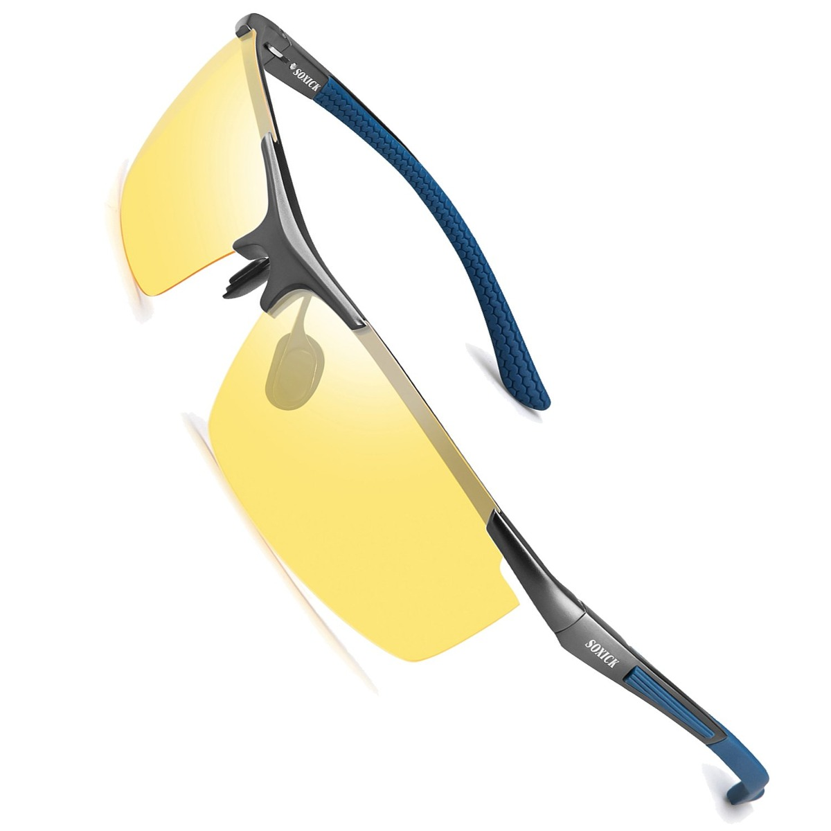 b48ef54eab8 soxick night driving polarized glasses para hombres mujeres. Cargando zoom.