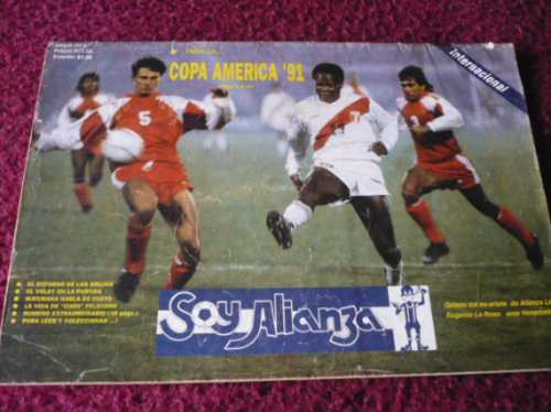 soy alianza (1991) alianza lima  revista colección ozzyperu