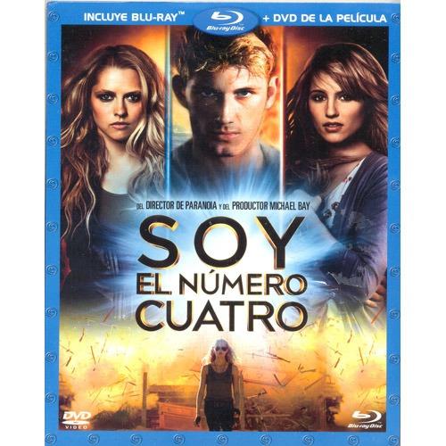 soy el numero cuatro i am number four pelicula blu-ray + dvd