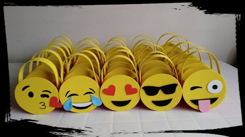 soy luna emoticon emojis lechuza bolsita golosinera souvenir