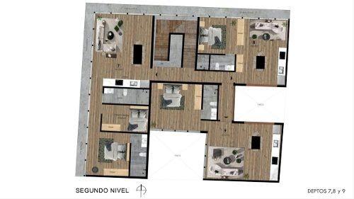 sp departamento en venta 50.43 m2, santa maria la ribera