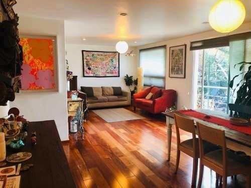 sp departamento en venta condesa 126 m2, con balcón