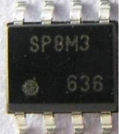 sp8m3  sp 8m3 5p8m3 sop-8 dual n&p esd protected