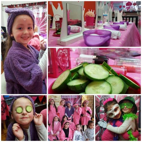 spa de nenas a domicilio-cocina-carpas-fiesta fluo-slime