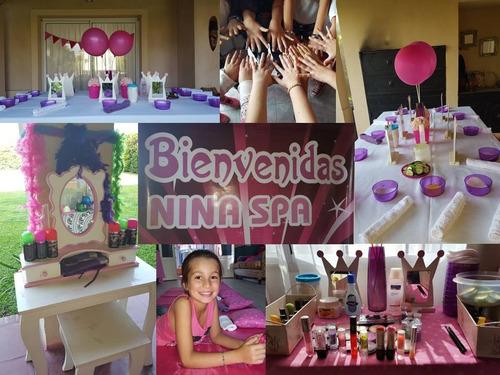 spa de nenas a domicilio - una tarde especial con amigas