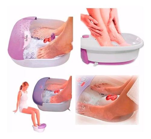 spa de pies hidromasajeador gama - calentamiento infrarrojo