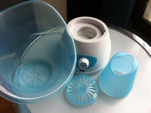 spa facial, embalaje original, 2 temperaturas, 4 accesorios