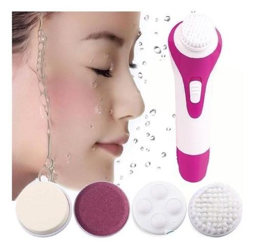 spa facial mini masajeador electrico para la cara 5 en 1