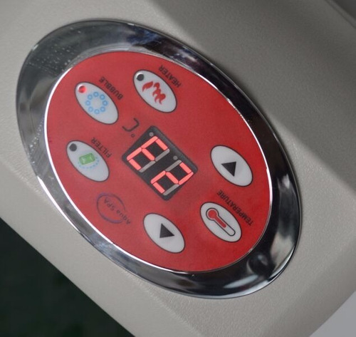 spa hidromasajes norglas inflable para 8 personas