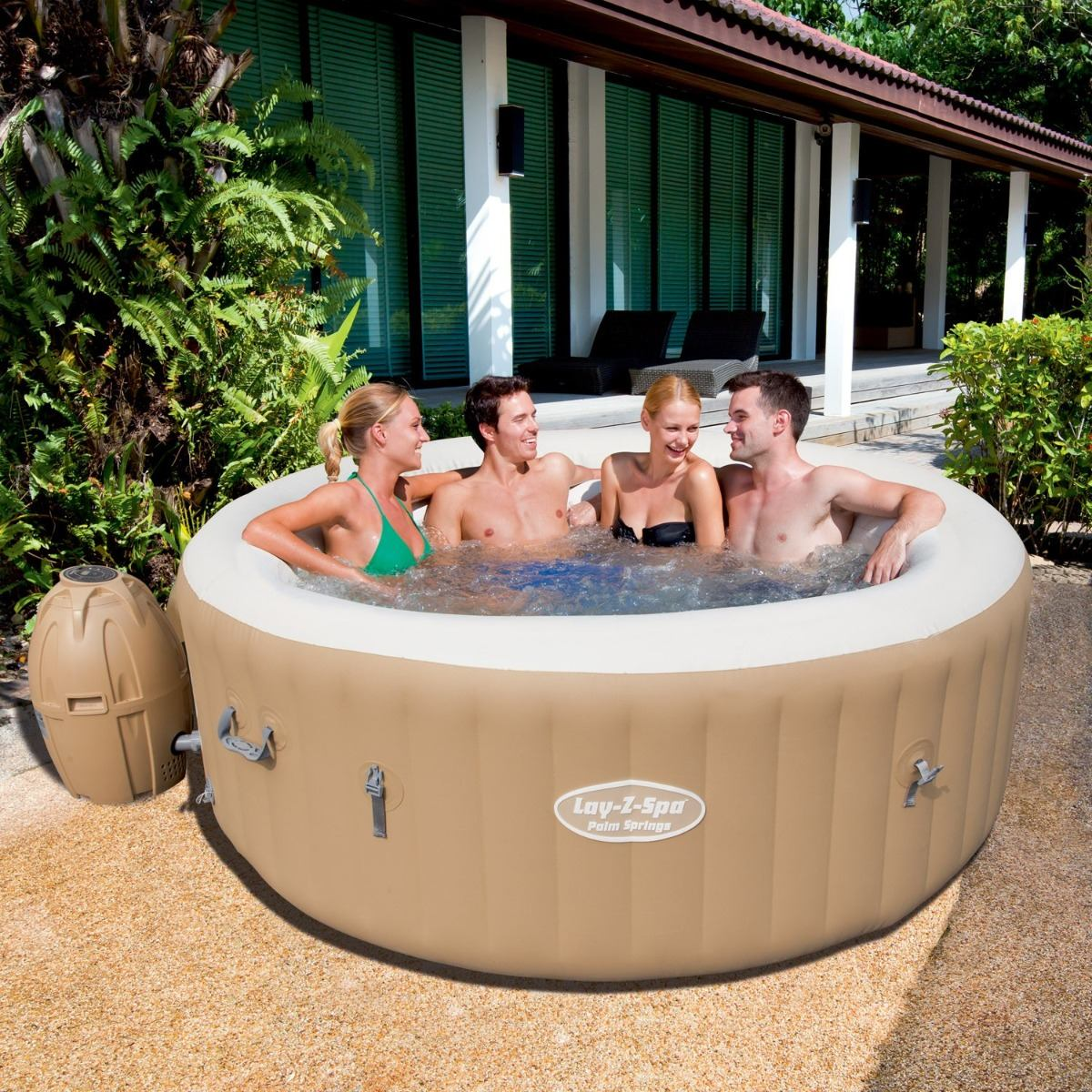 Jacuzzi Inflable Para 2 Personas.Spa Jacuzzi Inflable Bestway 4 6 Personas Hidromasaje 10