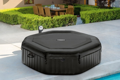 spa jacuzzi inflable intex 28456 deluxe burbujas 6 personas