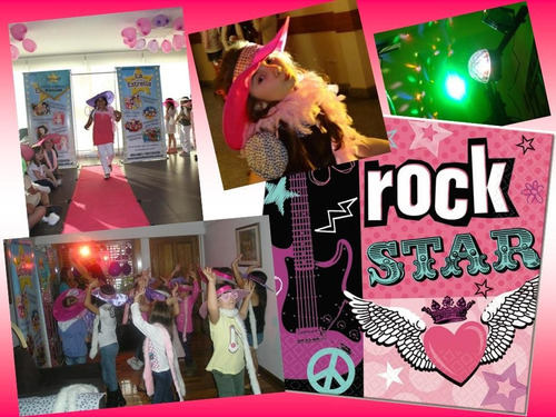 spa, karaoke, monster high, mini disco, desfile, rock stars