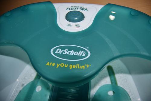 spa masajeador de pies dr. sholl