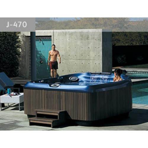 Spa para exterior mod j 470 marca jacuzzi u s 21 - Precios de jacuzzi para exterior ...