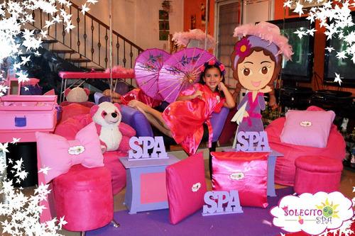 spa para niñas a domicilio fiestas y eventos