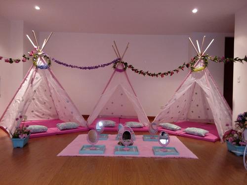 spa para niñas a domicilio, pijamadas, picnic