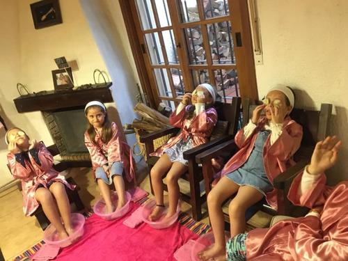 spa para niñas , tu fiesta spa a domicilio