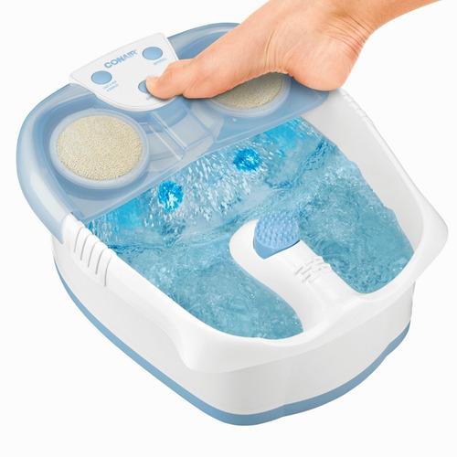 spa para pies de lujo con luz burbujas y vibración fb52kme-1