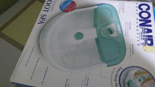 spa para pies nuevo marca conair