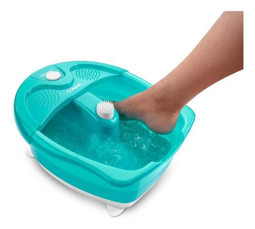 spa para pies teal con burbujas fb5xtes