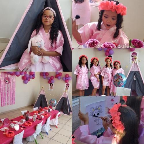 spa party para niñas