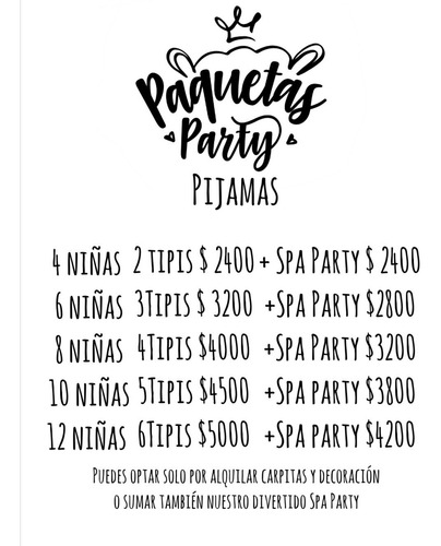 spa party, pijamadas, animación infantil, spa de niñas