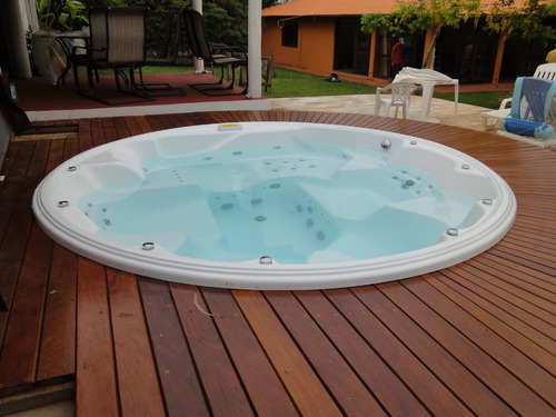 spa veneza 2.37 mondialle original para 5 pessoas acrílico