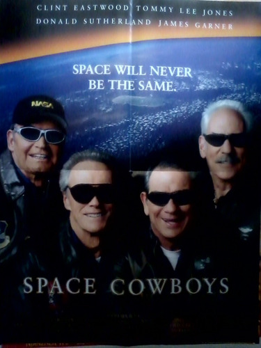 space cowboys - poster