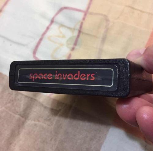 space invaders.    atari 2600