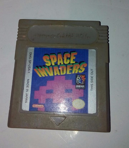 space invaders para gameboy classic gb