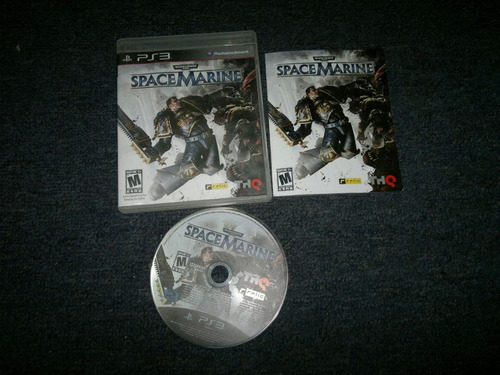 space marines completo play station 3,excelente titulo