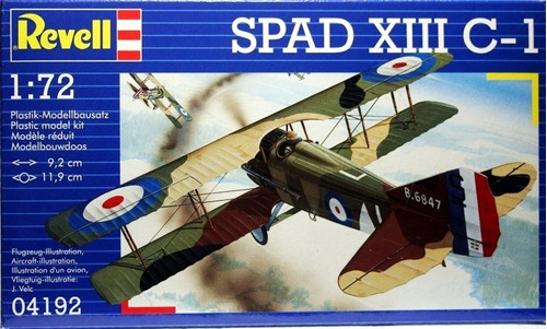 spad xiii c-1 1/72 revell 04192