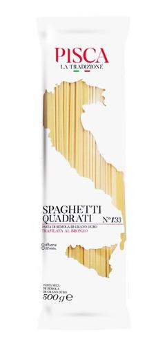 spaghetti quadrati - pisca la tradizione
