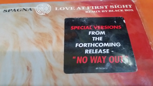 spagna love at first sight remix by black box vinilo maxi us