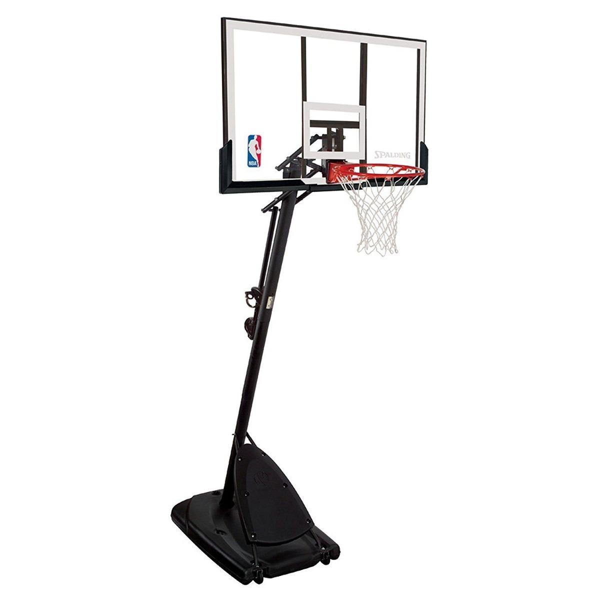 495512b604 spalding 54 \ sistema de baloncesto portátil tablero de ar. Cargando zoom.