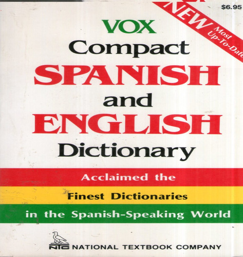 spanish and english dictionary