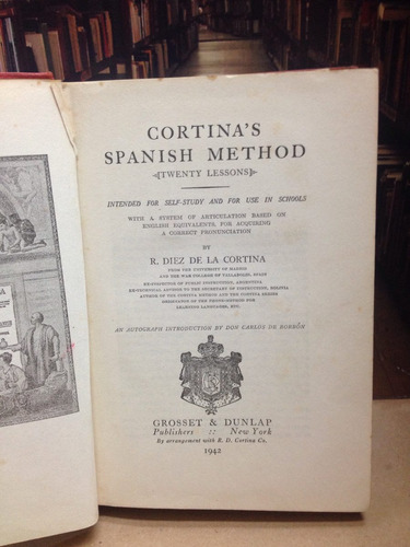 spanish in 20 lessons - r. diez de la cortina.