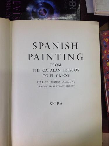 spanish painting. albert skira.