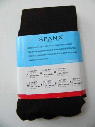 spanx mallas opacas con control abdominal  b