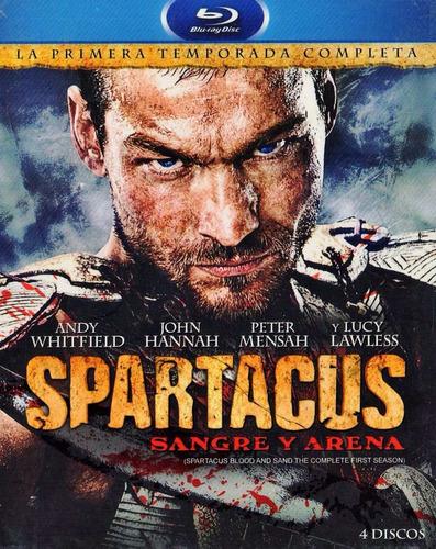 spartacus blood and sand primera temporada 1 uno blu-ray