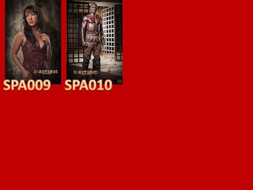 spartacus- caderno personalizado 1 matéria