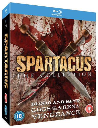 spartacus collection: gods of the arena/blood & san blu-ray