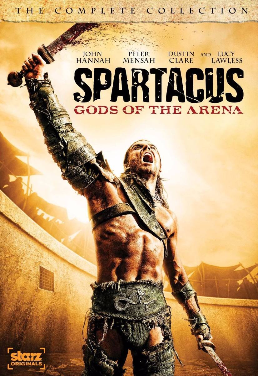 Spartacus (espartaco) Serie Completa En Dvd Latino - $ 406,00 en ...