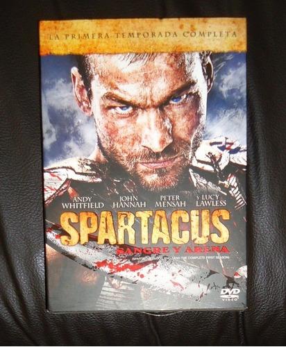 spartacus paquete temporadas 1 2 3 y precuela dvd