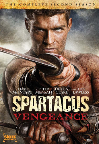 spartacus vengeance dvd original nueva sellada