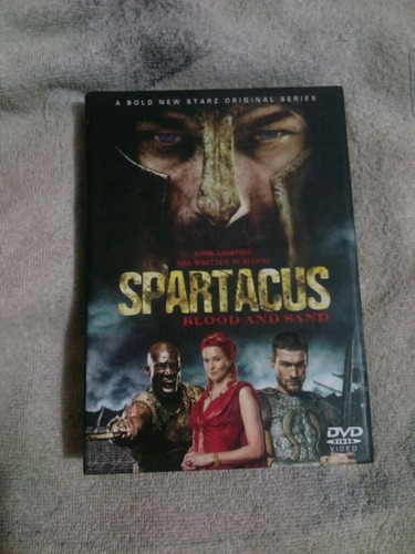spartacus;blood and sand 7 discos